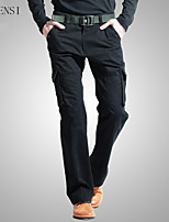 More than 2015 of men's pants pocket tooling relaxed leisure male trousers outdoor pants male Korean fashion