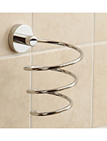 nuevo hotel de diseño de baño de latón titular de secador de pelo