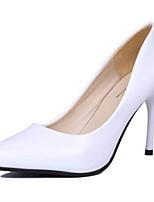 Women's Shoes Stiletto Heel Pointed Toe Pumps/Heels Dress Black/Red/White/Beige