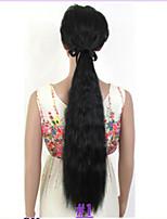 22'' 90 g Fiber Volume Ponytail Hair Ponytail Ribbon # 1