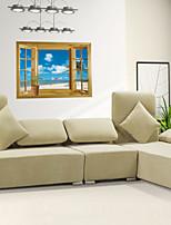 Pegatinas de pared 3d pared calcomanías estilo pegatinas de pared ventana de pvc