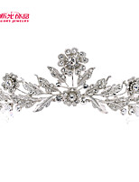 Neoglory Jewelry Hot Sale Flowerl Tiaras Crystals Crown Bridal Wedding Hair Jewelry Women Hair Accessories
