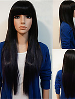 Synthetic Women Wig Europen Style Straight Heat Resistant Hair Wigs