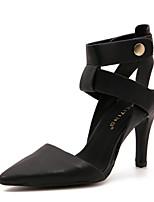 Women's Shoes Stiletto Heel Heels Sandals Outdoor Black