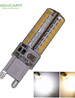G9 6W 64x3020SMD 550LM 3500K 6000K Warm White/Cool White Waterproof LED Corn Bulbs  AC220-240V