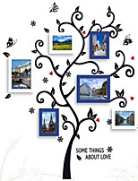 Photo Frame Collection Set of 6 with Wall Sticker 08