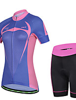 Women's Cycling Clothing Bike Bicycle Cycling Jersey & Trouser/Short Sets