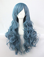 Japan And South Korea Explosion Models of High-Quality High-Temperature Wire Blue Long Hair