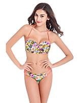 Women's Summer Floral Print Bikini