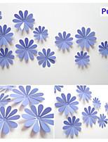 3D DIY 12pcs Sunflower Wall Stickers Art Decals