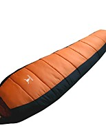 Sacco a pelo - Traspirabilità/Anti-vento/Tenere al caldo Blu/Arancione