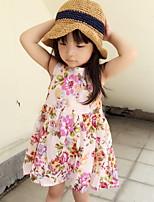 Flower Princess Sleeveless Dress