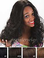 Top Quality 8''-24'' Natural Curly Indian Virgin Remy Human Hair Wigs Lace Front Wigs With Baby Hair For Black Women