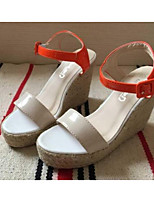 Women's Shoes  Wedge Heel Wedges Sandals Office & Career/Casual Blue/Beige