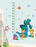 stickers muraux stickers muraux, de bande dessinée dinosaures animaux muraux PVC autocollants