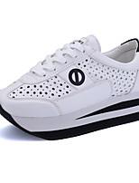Zapatos de mujer Tela Tacón Plano Comfort Zapatos de Deporte Casual/Deporte Negro/Azul/Blanco