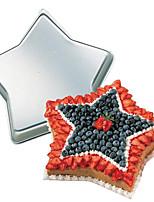FOUR-C Star Shape Aluminum Cake Baking Pan Mold, Bakeware Metal, Baking Tools for Cakes