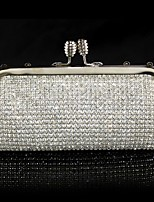 Handbag Crystal/ Rhinestone/Metal/Polyester Evening Handbags/Clutches/Mini-Bags/Wallets & Accessories