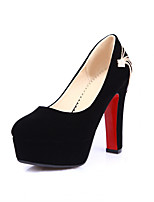 Women's Shoes Synthetic Chunky Heel Heels/Basic Pump Pumps/Heels Office & Career/Party & Evening/Casual