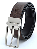 debaoli® 2015 New Arrival Men's High-grade Leather Belt Leisure Fashion Pin Buckle Belt High Quality Waist Belt