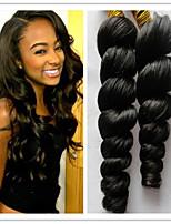 3Pcs/Lot Brazilian Virgin Hair Loose Wave Hair Human Loose Wave Hair 8