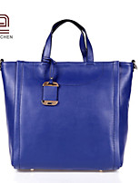 Handcee® Best Seller Simple Style Real Cowhide Woman Leather Tote Bag