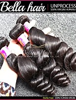 Malaysian Virgin Hair Loose Wave Bundle Hair 3pcs/lot Virgin Remy Human Hair Weave Double Weft Top Hair Quality