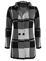 Chinanuo Women's Vintage England Thickened Coat (Cotton Blends)