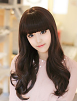 Fashion Girl Necessary Black Wig Long Detonation Model