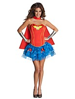 Wonder Woman Female As Picture Cosplay Costumes Cloak/Top/Skirt