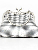 Handbag Crystal/ Rhinestone/Metal/Polyester Evening Handbags/Clutches/Mini-Bags/Wallets & Accessories