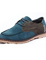 Men's Shoes Casual Oxfords Blue/Green