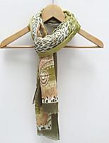 Unisex Colorful Pattern Print  Cotton Scarf