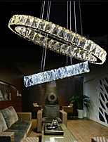 Modern Led Crystal Penadant Lighting Hanging Chandeliers Lights Ceiling Lamp Fixtures LED Warm and LED Cool CE UL