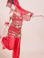 Kinderen - Latin Dans - Outfits ( Rood , Polyester , Kwastje(S) )
