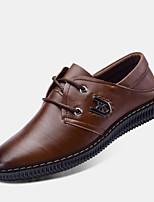 Men's Shoes Outdoor Leatherette Oxfords Black/Brown