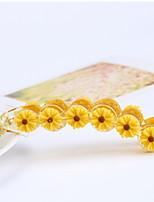 Women Daisy Flower Banana Clip Hairpin