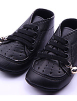 Baby Shoes Casual Boots Black/White
