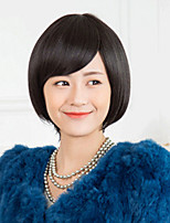 Japan and South Korea Detonation of High Quality Fashion Black Temperament Hair Wigs