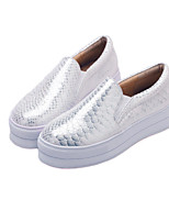Women's Shoes L Flat Heel Round Toe Flats Outdoor/Casual Black/White