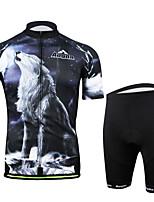 Cycling Bike Short Sleeve Clothing Set Bicycle Men Wear Suit Jersey + Shorts