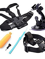 4-in-1 Sports Camera Accessories Kit for GoPro Hero 4 / 3 / 3+ / SJ4000 / SJ5000 / SJCam / Xiaoyi