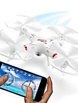 drone hq898b rc con hd wifi cámara 2.4G 4 canales Quadcopter FPV 6 ejes giroscópicos drones profesionales modo sin cabeza