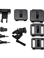 Universal Fixed Gopro Connector Clip Fixture Kit for GoPro Hero 4/3+
