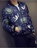 Men's Casual Long Sleeve Regular Jacket
