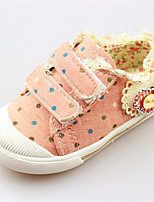 Baby Shoes Outdoor/Dress/Casual Canvas Fashion Sneakers Green/Pink