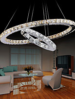 K9 Crystal LED Pendant Light Chandelier Lighting Lamp with LED Warm and Cool White For Dining Room Indoor Home CE UL