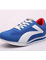 Walking Women's Shoes Fabric/Tulle Blue/Red
