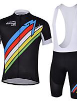 Outdoor Sport Cycling Short Sleeve Clothing Bicycle Sports Cycling Bib Set