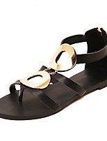 Women's Shoes  Flat Heel Mary  Sandals Casual Black